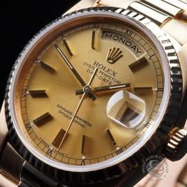 RO21640S Rolex Day-Date President 18238 Close10 1
