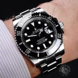 RO21778S Rolex Submariner Date Ceramic Wrist