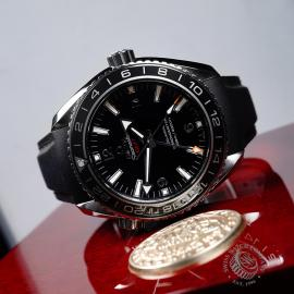 OM21785S Omega Seamaster Planet Ocean Co-Axial GMT Close10