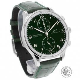 IW18253S IWC Portuguese Chrono Boris Becker Limited Edition Dial