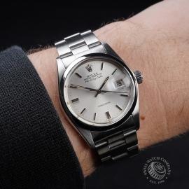 RO21682S Rolex Air-King Date 5700 Wrist