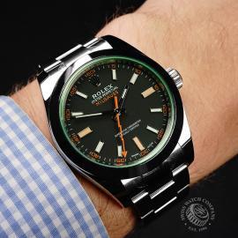 RO21986S Rolex Milgauss Unworn Wrist