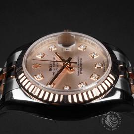 RO22737S Rolex Ladies Datejust Close8
