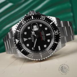 RO22325S Rolex Sea Dweller 50th Anniversary Unworn Close10