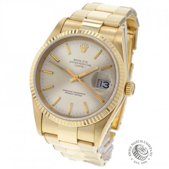 Rolex Date 18ct Gold