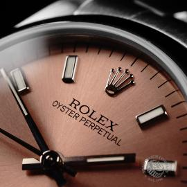 RO21830S Rolex Mid Size Oyster Perpetual Close3