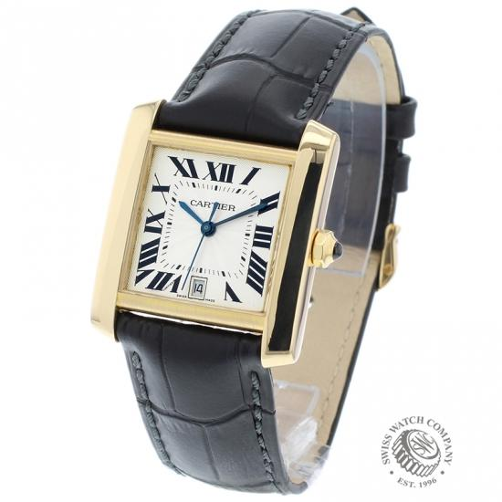 Cartier Tank Francaise Mid Size 18ct