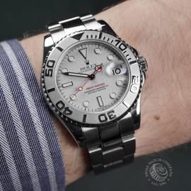 RO22401S Rolex Yacht-Master Midsize Wrist