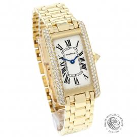 CA863F Cartier Tank Americaine 18ct Dial