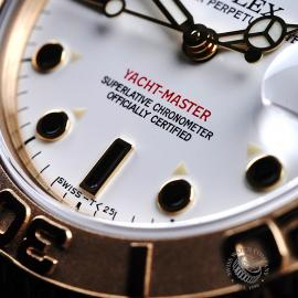 RO21757S Rolex Yacht-Master Mid size 18ct Close4 1