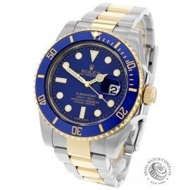 RO21898S Rolex Submariner Date Back