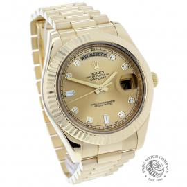 RO22541S Rolex Day-Date II 18ct Dial