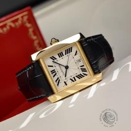 CA21253S Cartier Tank Francaise Mid Size18ct Close11