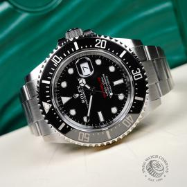 RO21808S Rolex Sea Dweller 50th Anniversary Unworn Close10