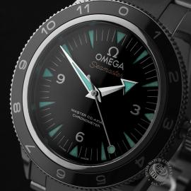 OM22653S Omega Seamaster 300 Master Co Axial SPECTRE Limited Edition Close2