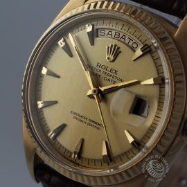 RO645F Rolex Day Date 18ct Close 1