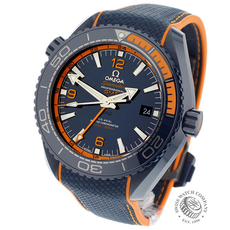 Omega Seamaster Planet Ocean GMT 'Big Blue'