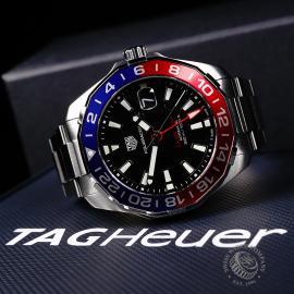 TA22134S Tag Heuer Aquaracer GMT Close10