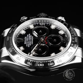 RO21820S Rolex Daytona 18ct White Gold Close6