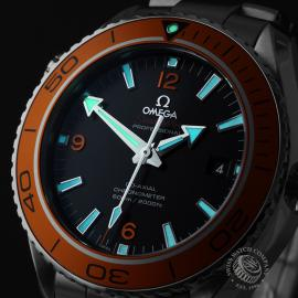 OM21969S Omega Seamaster Planet Ocean 600M Co-Axial Close1