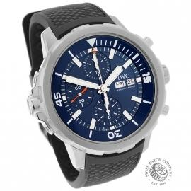 IW21710S IWC Aquatimer Chronograph Dial
