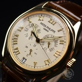 PK21281S Patek Philippe Annual Calendar 18ct Close2