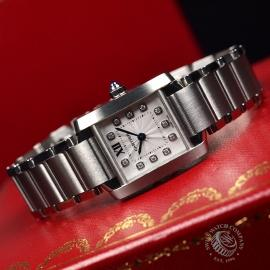 CA21054S Cartier Ladies Tank Francaise Small Model Close11