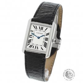 CA21602S Cartier Tank Solo Large Model Back