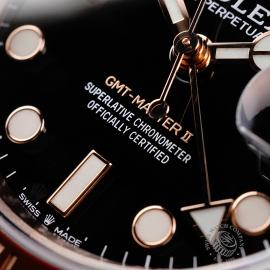RO22050S Rolex GMT-Master II 18ct Everose Gold Close4