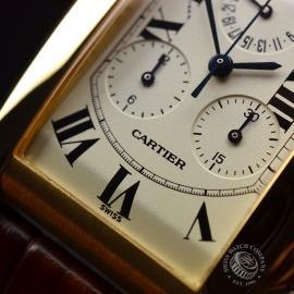 CA21073S Cartier Tank Americaine Chronograph Close6 1