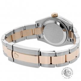 RO22235S Rolex Ladies Datejust Back