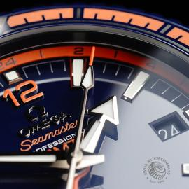 OM21772S Omega Seamaster Planet Ocean GMT 'Big Blue' Close5