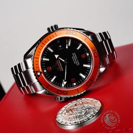 OM21969S Omega Seamaster Planet Ocean 600M Co-Axial Close10