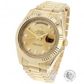 RO22541S Rolex Day-Date II 18ct Back 1