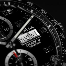 21452S Tag Heuer Carrera Calibre 16 Day-Date Chrono Close9