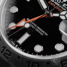RO22474S Rolex Explorer II Orange Hand Unworn Close4