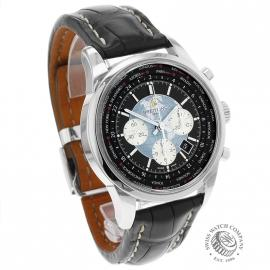 BR19708S Breitling Transocean Chronograph Unitime Dial