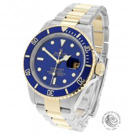 RO22203S Rolex Submariner Date Back