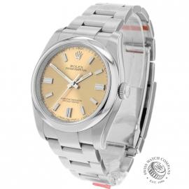 Rolex Oyster Perpetual (White Grape Dial)