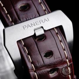 PA21799S Panerai Luminor 1950 3 Day GMT Close8