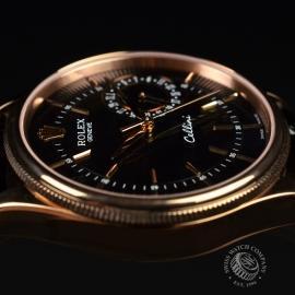 21396S Rolex Cellini Date 18ct Everose Close3 2