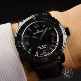 BL19823S Blancpain Black Knight Fifty Fathoms Automatic Wrist