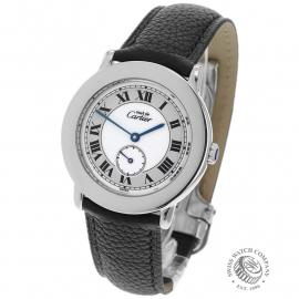 Cartier Ladies Must de Vermeil Ronde