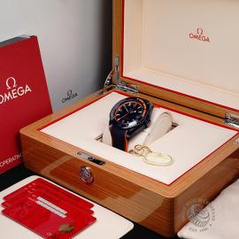 OM21772S Omega Seamaster Planet Ocean GMT 'Big Blue' Box