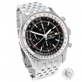 BR21888S Breitling Navitimer World Chrono GMT Dial