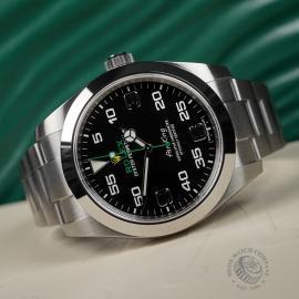 RO22395S Rolex Air King Close 8