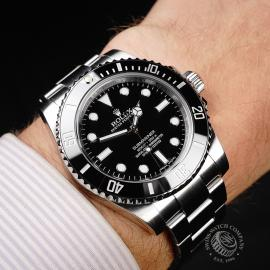 RO21834S Rolex Submariner Non Date Ceramic Wrist