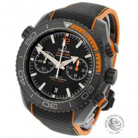 Omega Seamaster Planet Ocean Chronograph 'Deep Black'