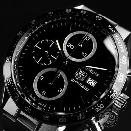 21481S Tag Heuer Carrera Chronograph Tachymetre Close3