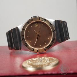 OM22293S Omega Constellation Automatic Close10